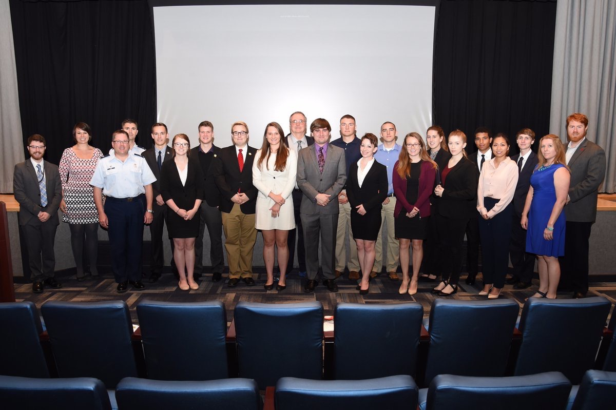 Student national security teams present at USSTRATCOM
