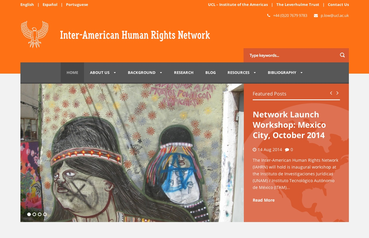 The Inter-American Human Rights Network Launches New Website